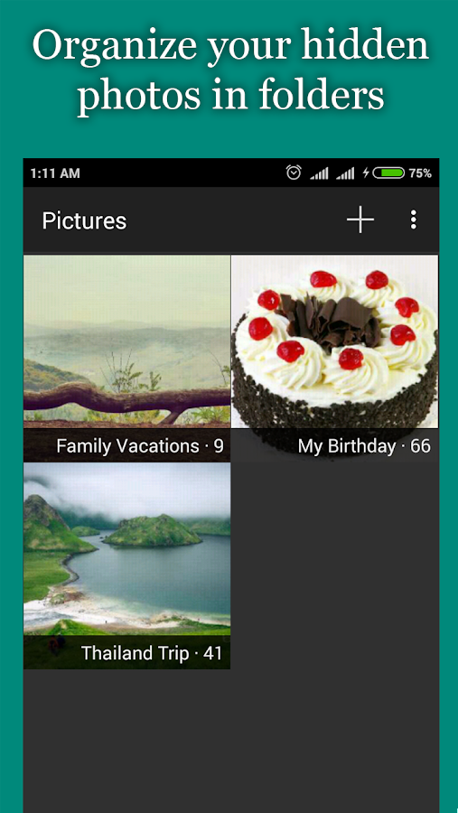 Hide Photos, Video-Hide it Pro Screenshot 2
