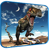 APK Game Car Racing in Dinos for BB, BlackBerry