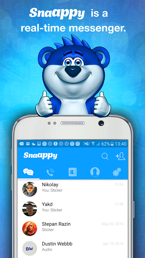 Snaappy Messenger Screenshot 0