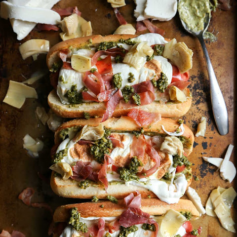 Prosciutto Pesto Hot Dog