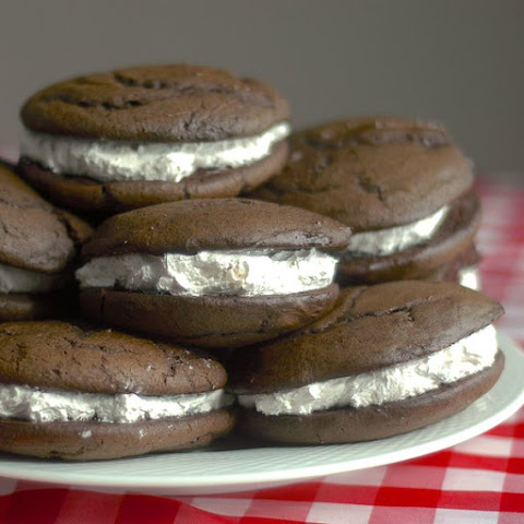 Chocolate Whoopie Pies!!
