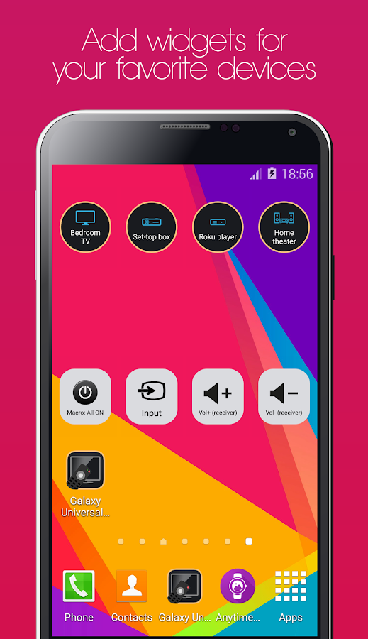 Galaxy Universal Remote Screenshot 7