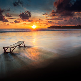 Story a lonely by Wb Wilapa - Landscapes Beaches ( indonesia, sunset, asia, eastjava, trip, travel, beach )