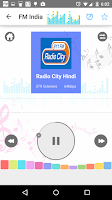 Screenshot of FM Radio India