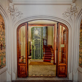 Architectural detail of home interior by Richard England - Buildings & Architecture Architectural Detail ( architectural detail, apartment building, home interior, interior, architecture )