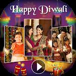 Happy Diwali Video Maker - Diwali Video Editor Icon