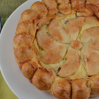 Apple Cheese Cake Puff