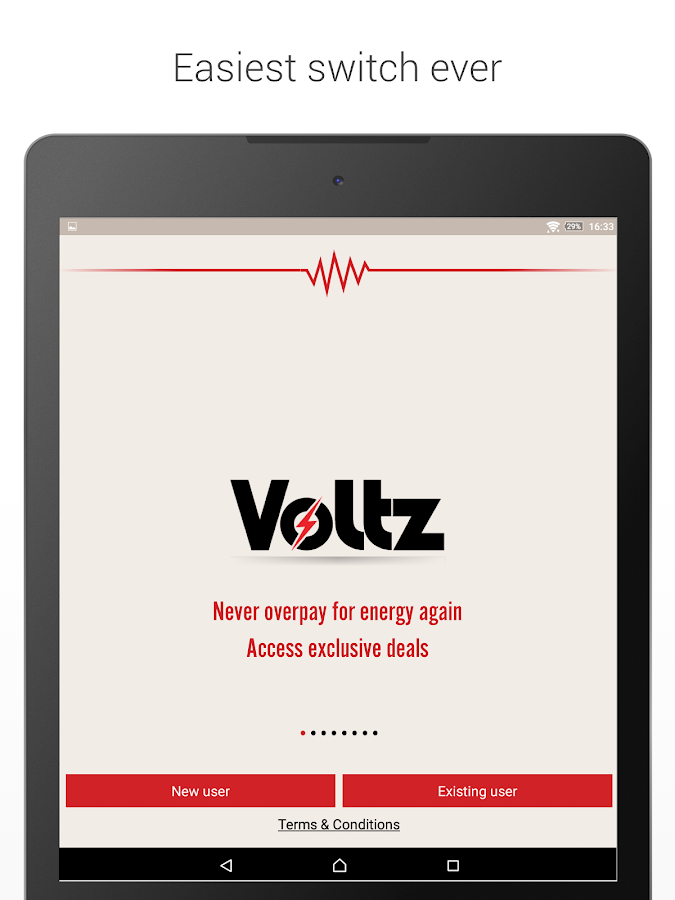 Voltz - energy switching app Screenshot 5