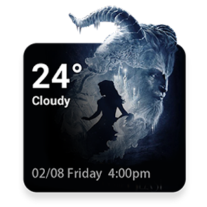 Beauty & Beast Weather Widget APK