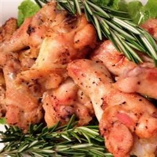 Foolproof Rosemary Chicken Wings