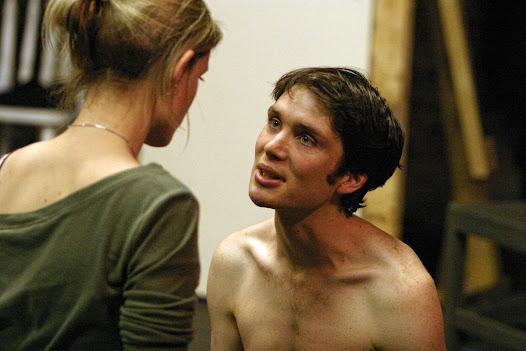 Cillian Murphy pleads his love to Anne-Marie Duff as Pegeen in the 2004 DruidSynge production.