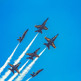 Too the sky by Gary Duncan - Transportation Airplanes ( airplanes, airshow, blue angels )