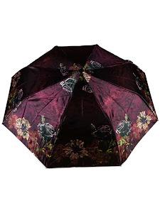 """Зонт """"Компакт L"""", 110см, фиолетово-черный"""