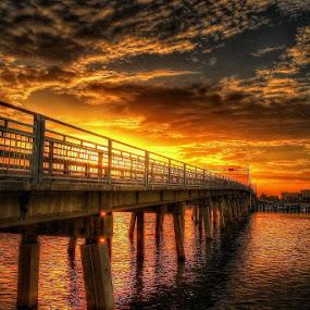 Causeway Bridge by Edward Allen - Buildings & Architecture Bridges & Suspended Structures (  )