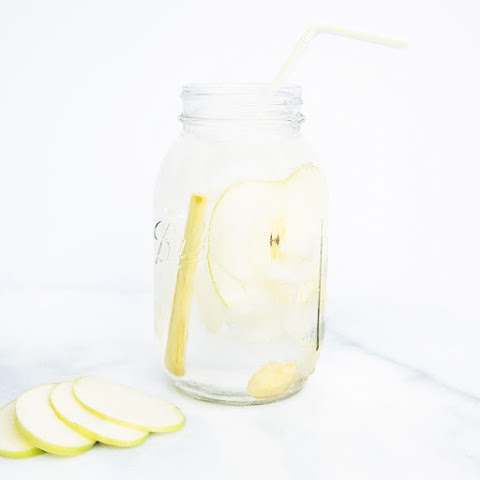 Apple-Ginger-Lemongrass Infused Water
