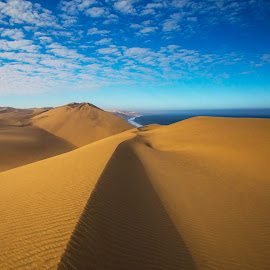 Namib Desert by Chris Coetzee - Landscapes Travel ( oldest desert in the world, africa, desert namib desert, namibia,  )