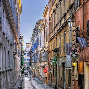 i love Rome  by Wael Onsy - City,  Street & Park  Street Scenes