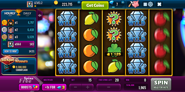 Diamonds Rush Spielautomaten - Vegas Casino android spiele download