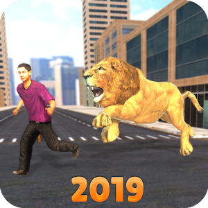 Angry Lion City Attack Simulator 2019 For PC / Windows 7/8/10 / Mac – Free Download