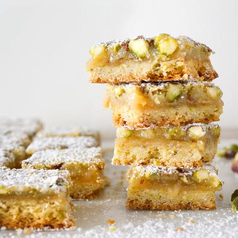 Pistachio Bars Recipes