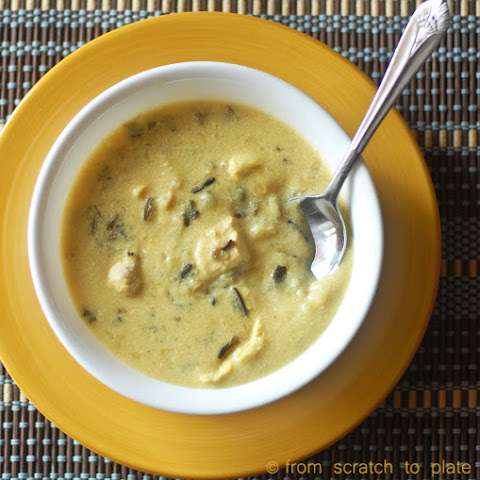 Creamy Chicken and Wild Rice Soup (Slow Cooker)