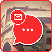Messenger Red Car McQueen – iMessenger 11 Phone 8S APK for Bluestacks