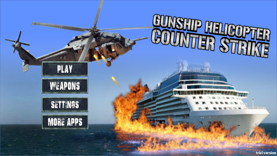 Gunship Heli counter Strike - screenshot