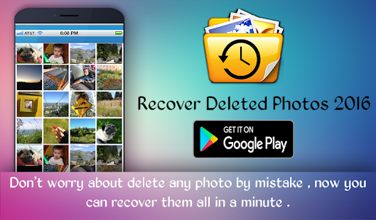 App Recover Deleted Photos free APK for Kindle