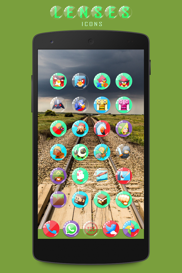 Lenses Icon Pack Screenshot 2