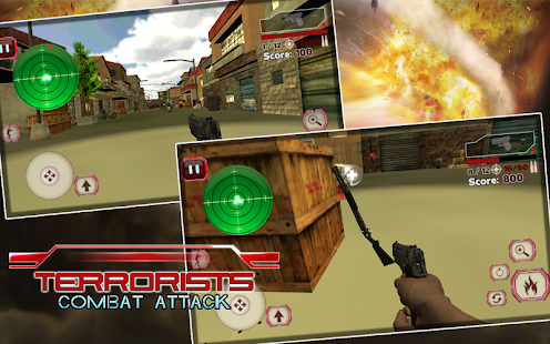 Terrorist Combat Attack- screenshot thumbnail