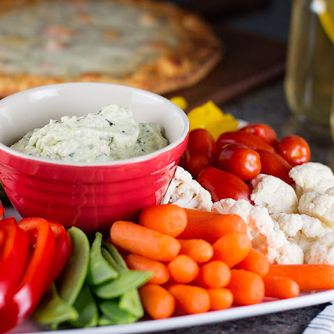 Creamy Avocado & Spinach Dip