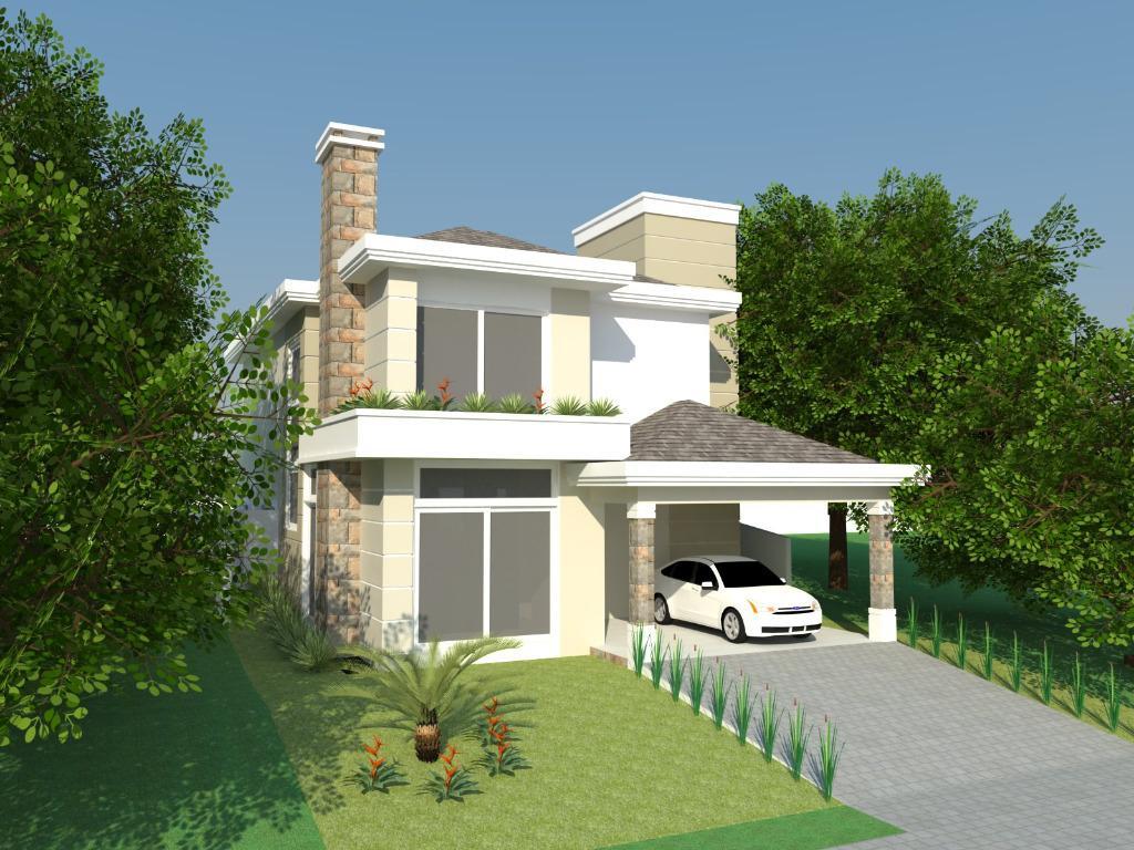 Casa 4 Dorm, Alphaville, Gravataí (CA1459)