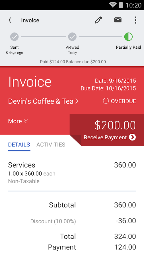 QuickBooks Accounting+Invoice Screenshot 3