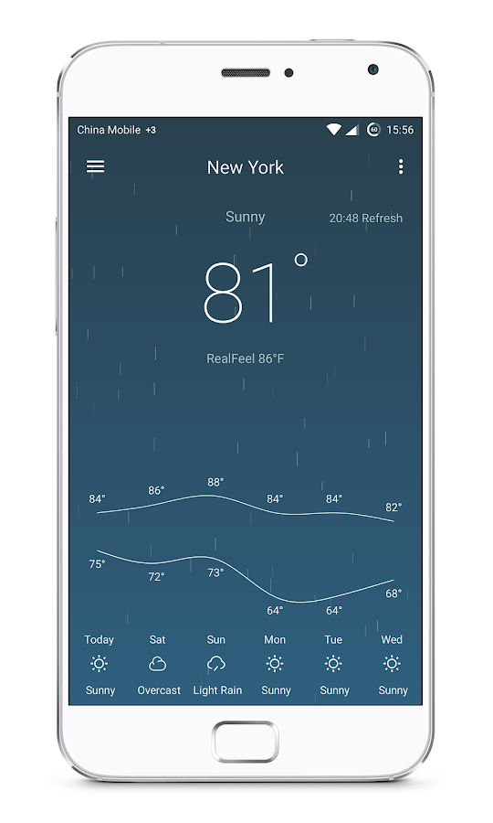 Pure Weather Pro - Forecast Screenshot