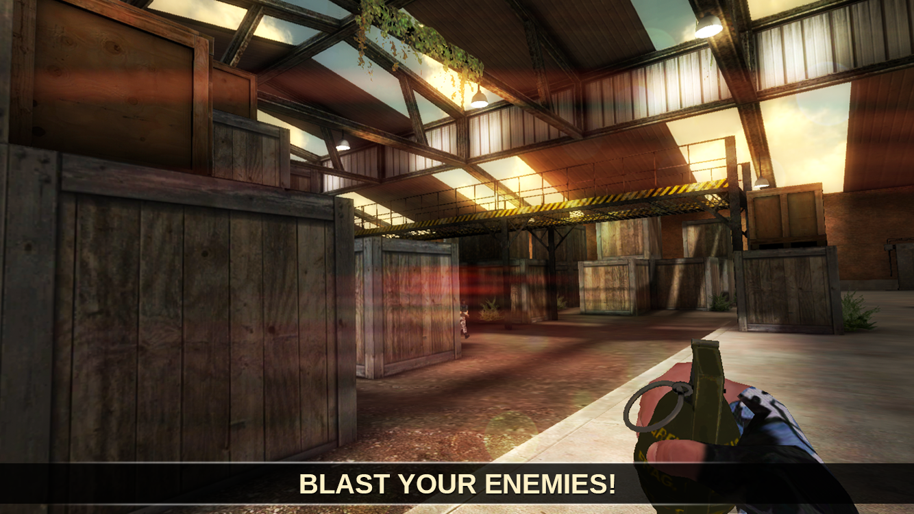Counter Attack Team 3D Shooter Screenshot 2