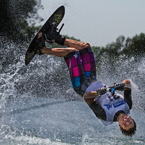 Flipping by Henrik Spranz - Sports & Fitness Watersports ( ski, water, sports, action, trick, flip )