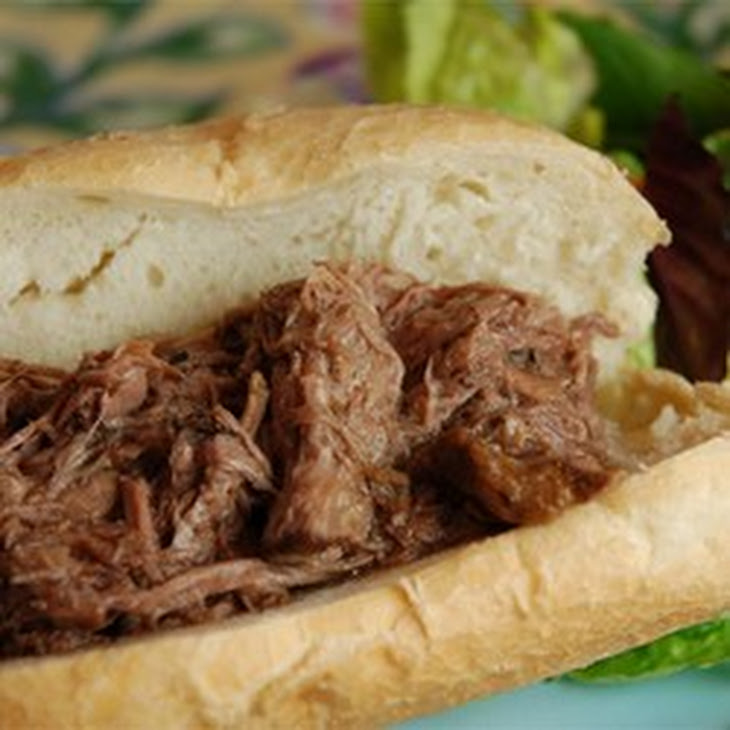 Slow Cooker Italian Beef for Sandwiches Recipe | Yummly