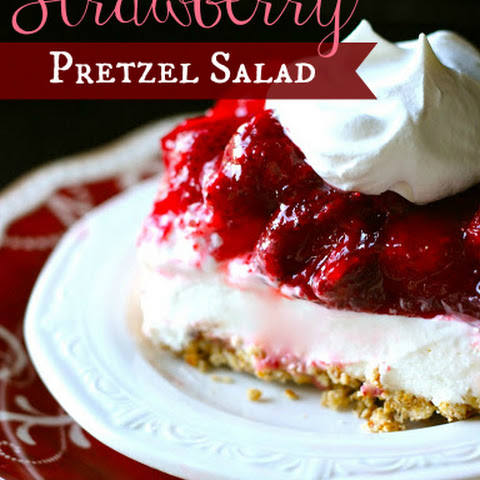 Strawberry-Pretzel Jello Salad
