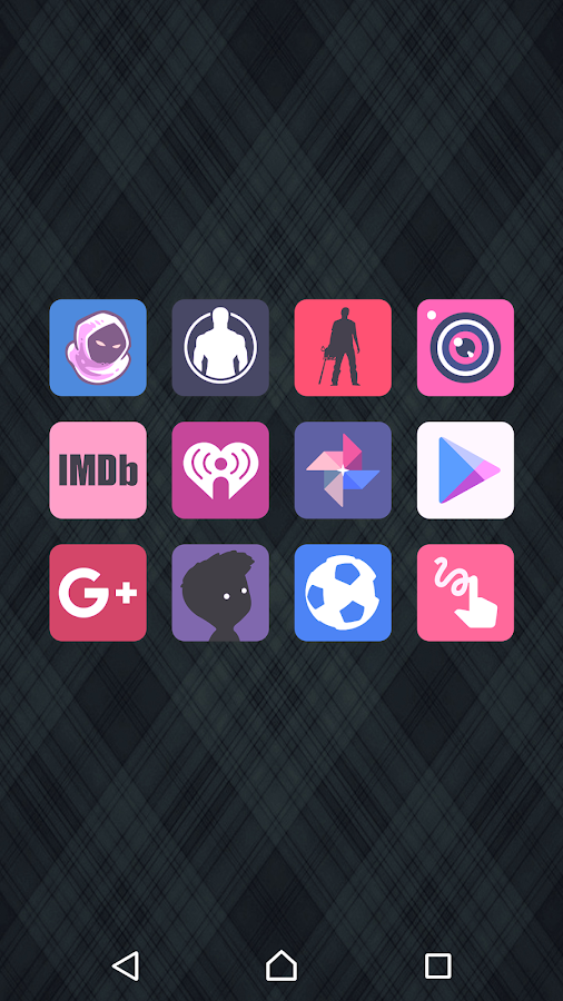 Teron - Icon Pack Screenshot 2