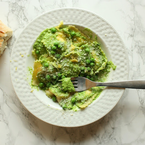 Pesto Made with Peas