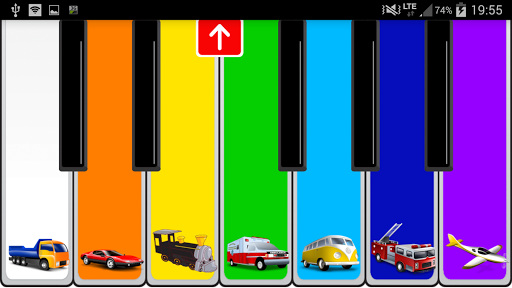 Childrens Piano - screenshot