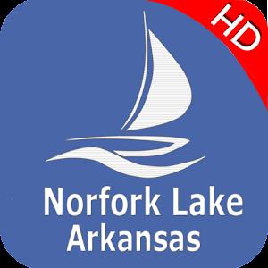 Norfork Lake - Arkansas Offline Fishing Charts For PC / Windows 7/8/10 / Mac – Free Download