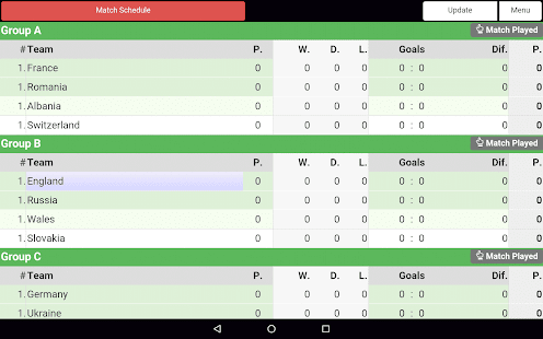 wc 2018 match schedule & quali apps on google play