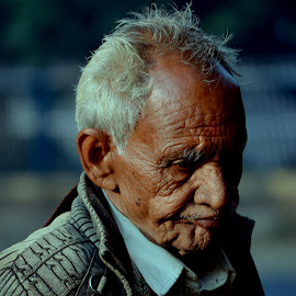 Marks of time by Heramba Ray - People Portraits of Men (  )