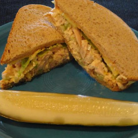 Sweet And Spicy Tuna Salad Sandwich!