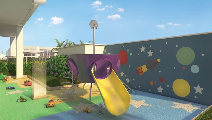 Perspectiva do Playground Descoberto