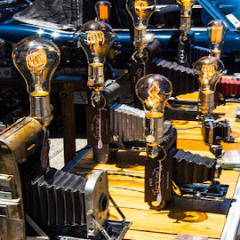Camera Lamps, Image by Rich AMeN Gill by Rich Gill - Artistic Objects Other Objects ( lights, rich amen gill, canon t5i, california, san dimas, cameras, rich gill )