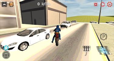 Screenshot of Racing Motorcycle Games 3D