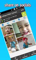 Screenshot of Collage Editor Camera
