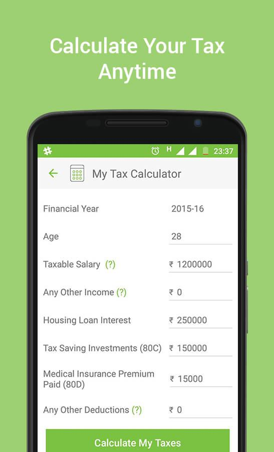 TaxChat - Income Tax e-Filing Screenshot 3